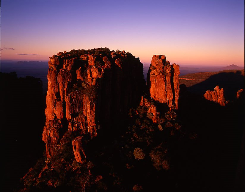 Valley sunrise - Camdeboo National Park