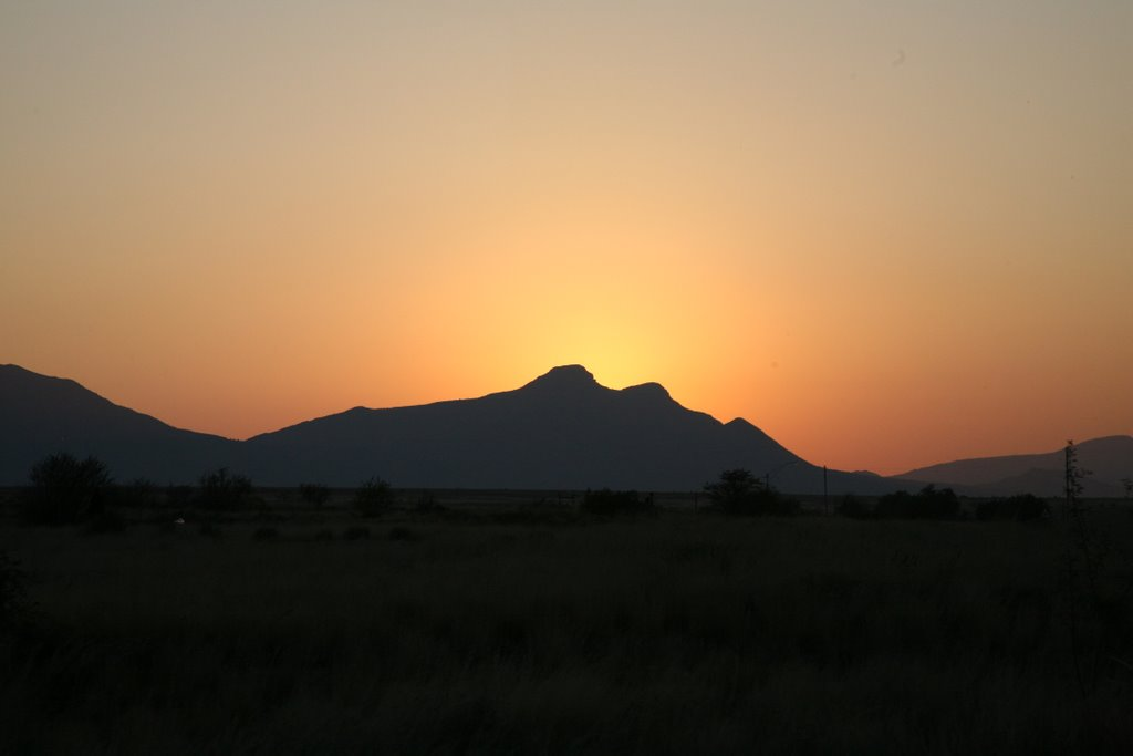 Sunrise near Cradock, ZA