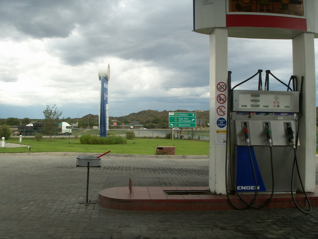 Gas Station in Colesberg