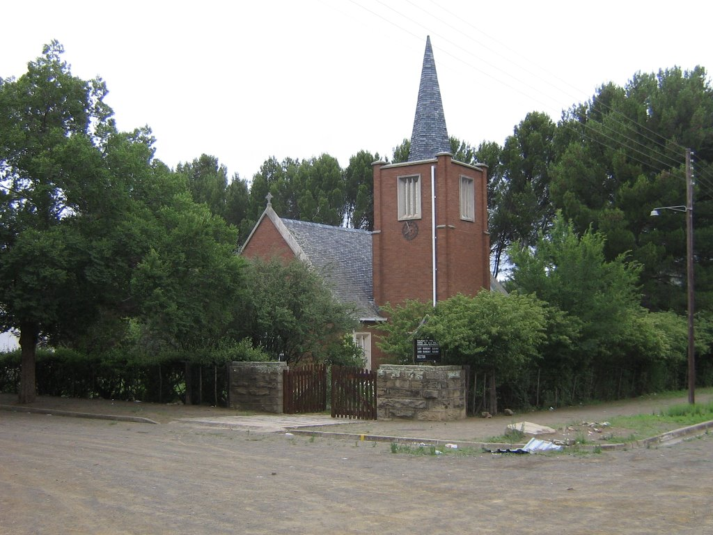 ANGLICAN CHURCH, MOLTENO, NORTH EASTERN CAPE, SOUTH AFRICA