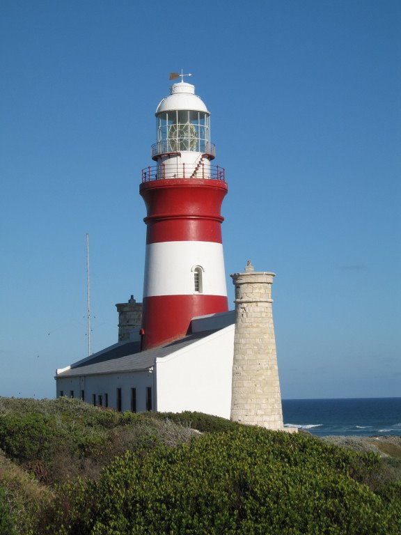 lighthouse, southernmost in South Africa