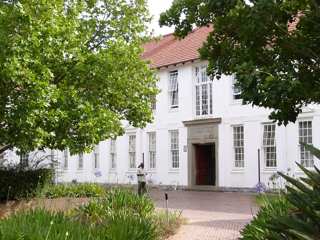 Stewart Hall, University of Fort Hare
