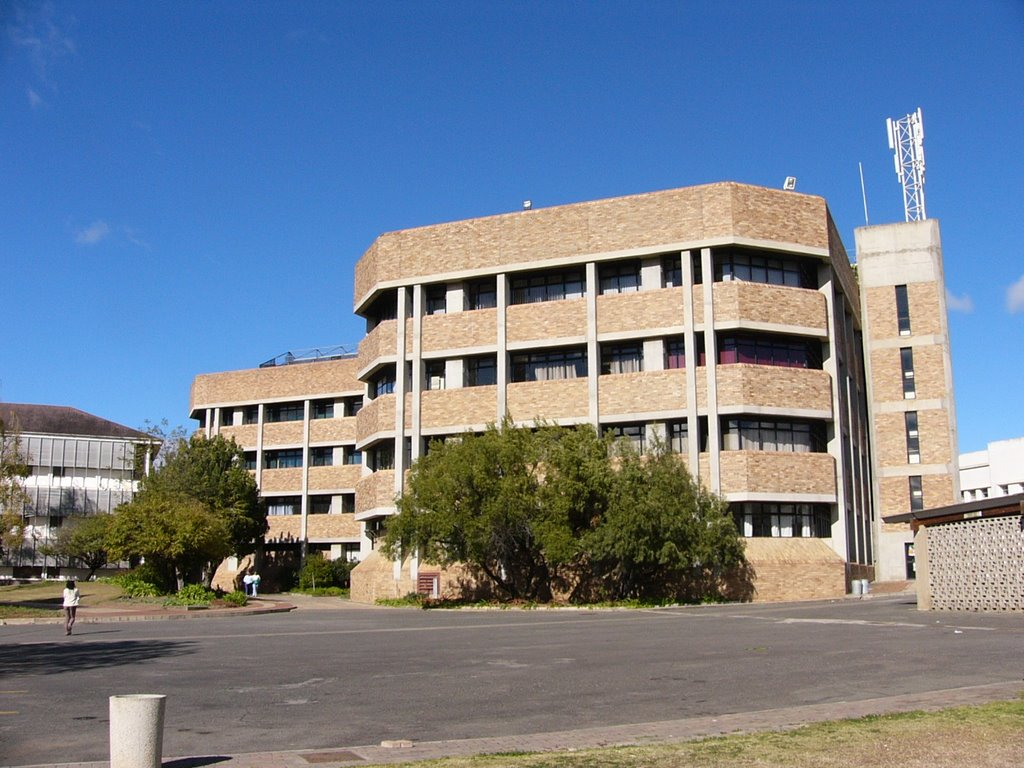 Zoology and Botany buildings, University of Fort Hare