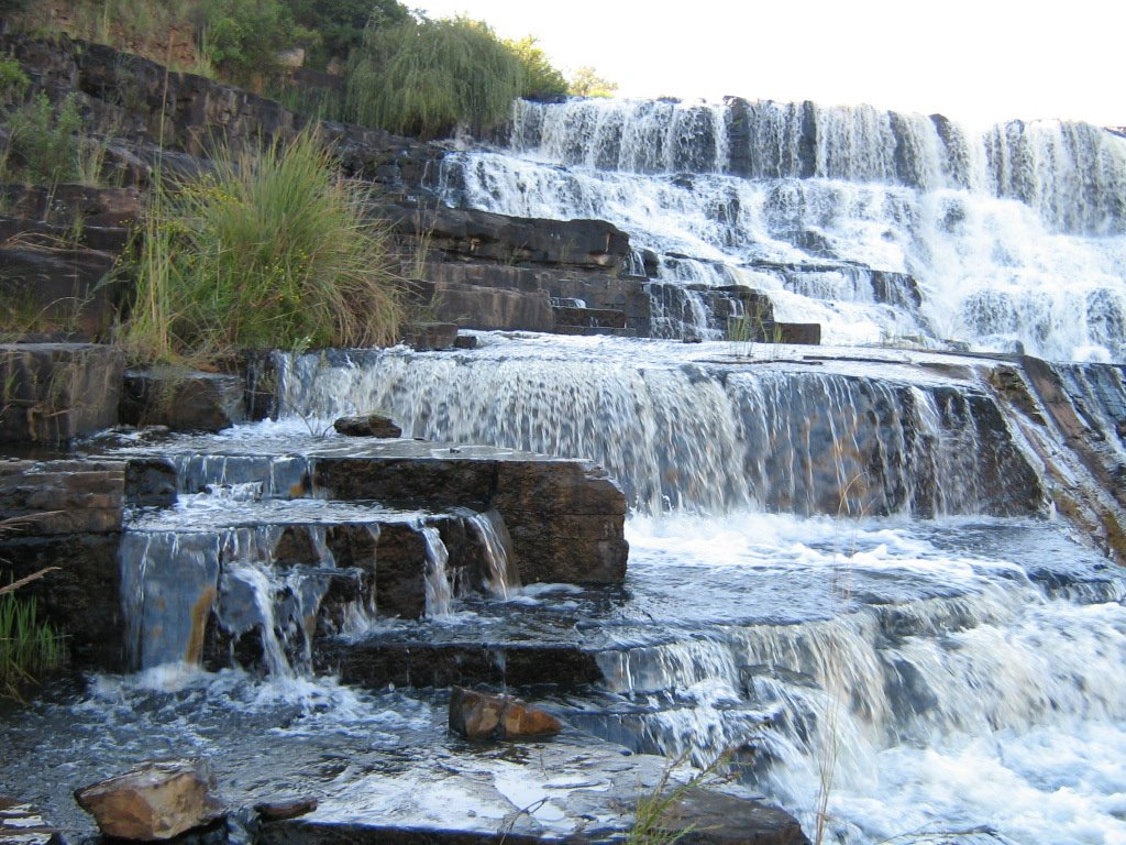 Kokstad waterfall