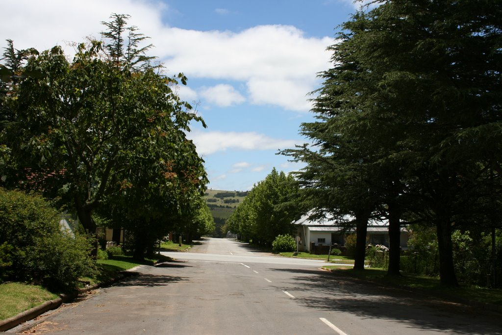 Crossroads in Stutterheim