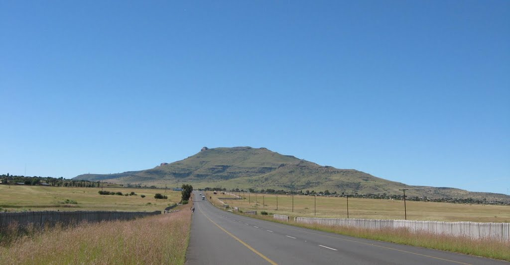 Tchaba Nchu, N8 Highway, South Africa