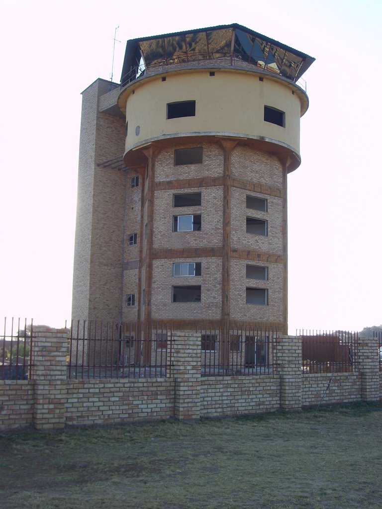 Bloemhof - Old water tower, converted by local businessman to offices