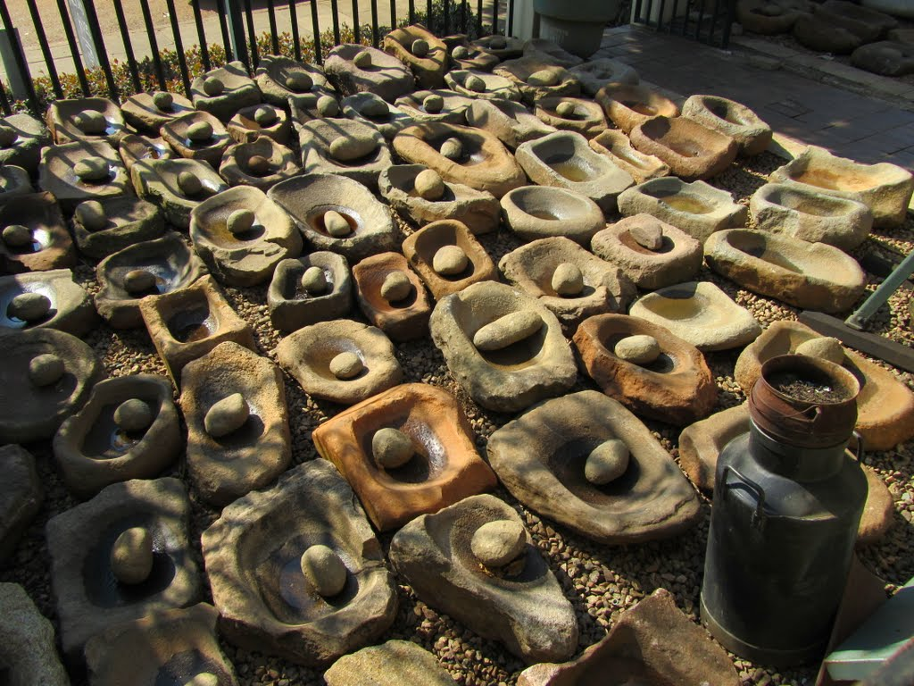 Collection of Grinding Stones, Seconds-on-West