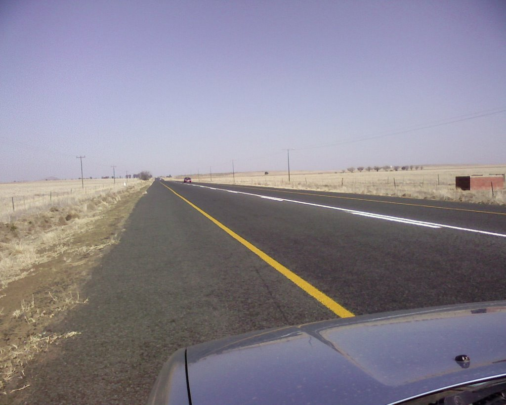 On the Road between Bloemfontein and Dewetsdorp