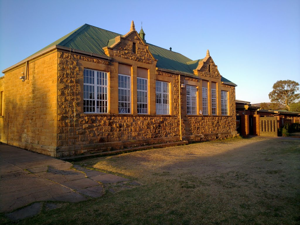 Sandstone School Building