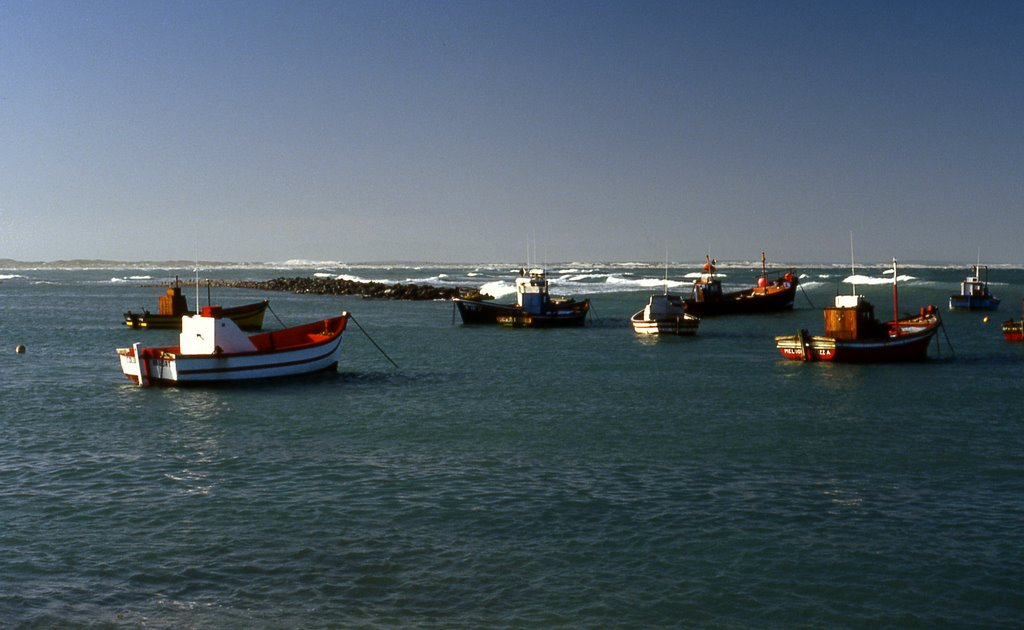 Boats at Struisbaii harbor - South Africa