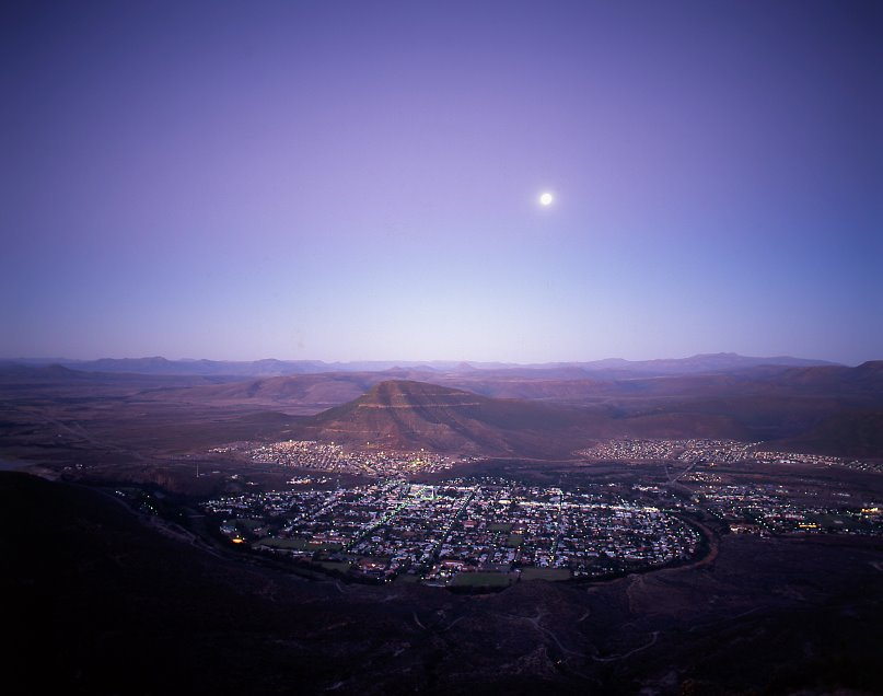 Graff-Reinet nightfall