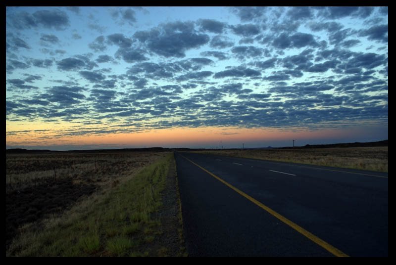 The N1 near Springfontein
