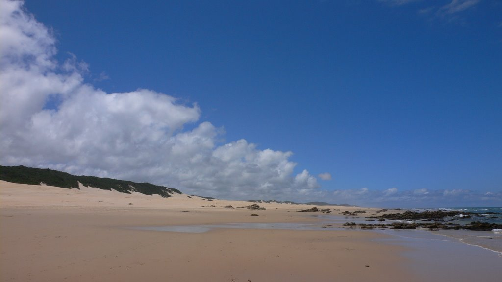 East beach in Port Alfred, South Africa