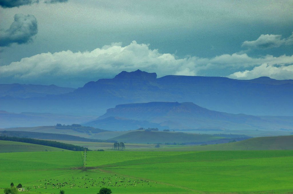 N3 Looking towards Lesotho