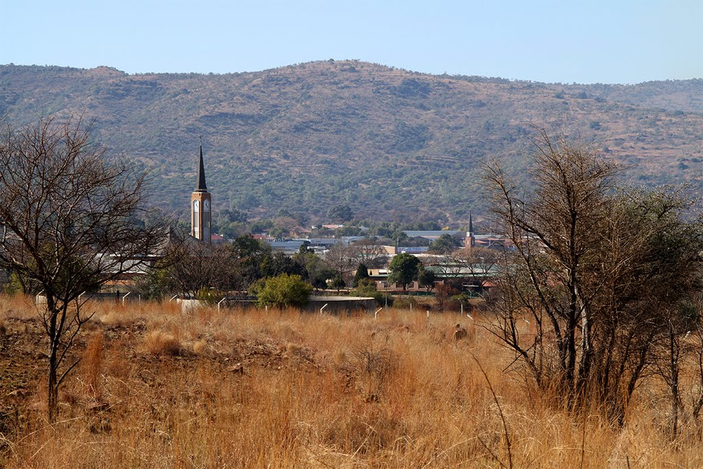 Zeerust from the hill