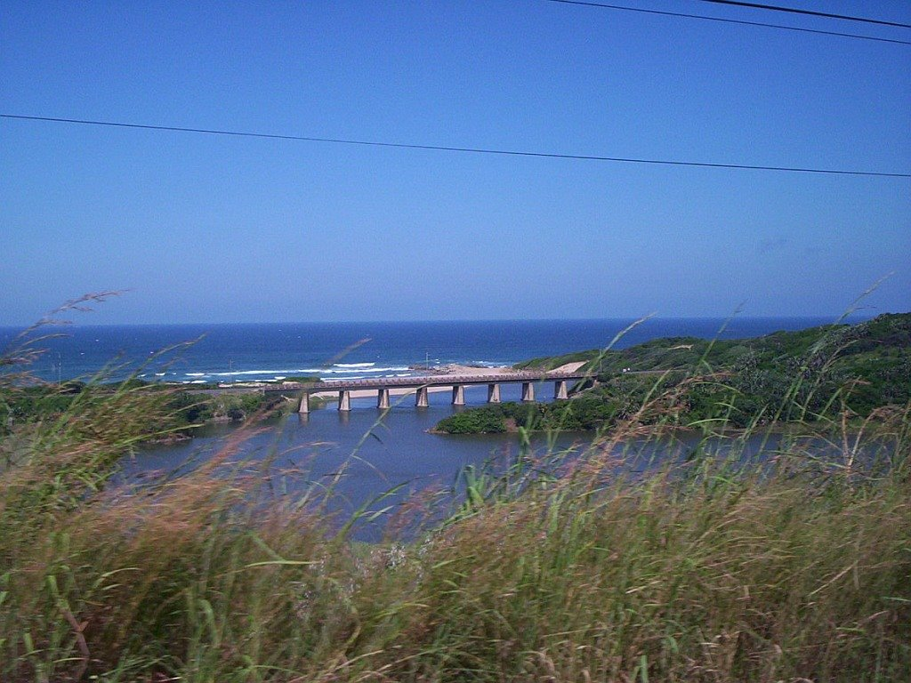 N2 highway and railway bridge,  KwaZulu-Natal, South Africa