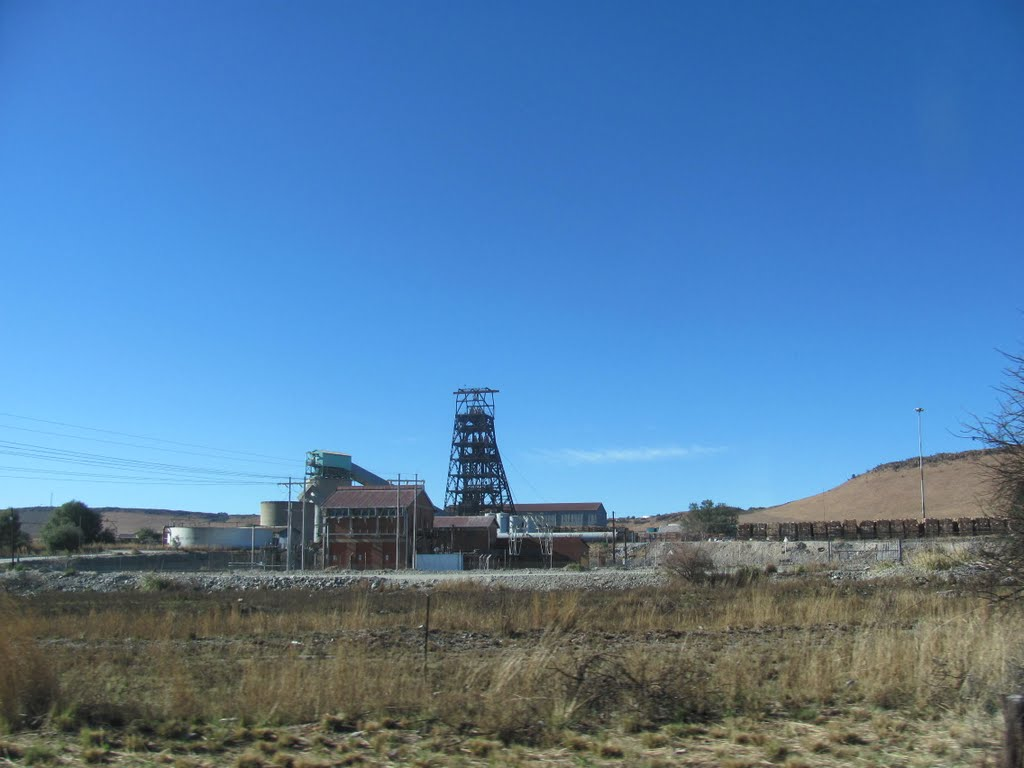 The Glenharvie mine in North West