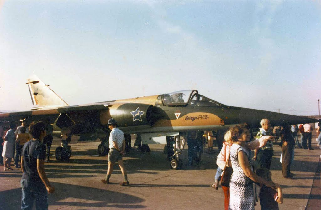Dassault Mirage F1 CZ - Air Show Louis Botha Airport c 1985