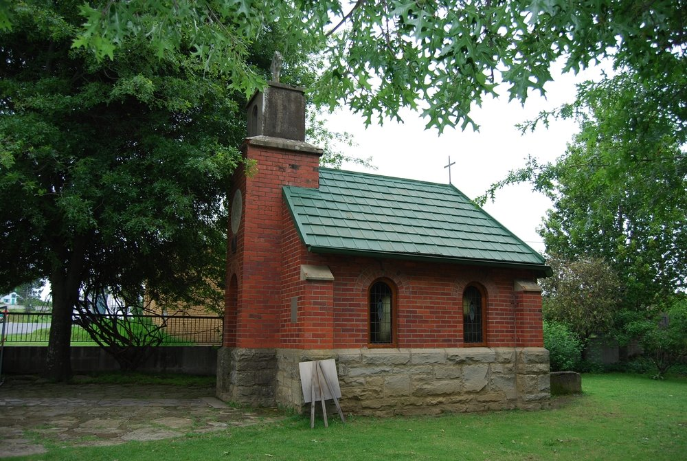 Llandaff Oratory - a small chapel with only eight seats