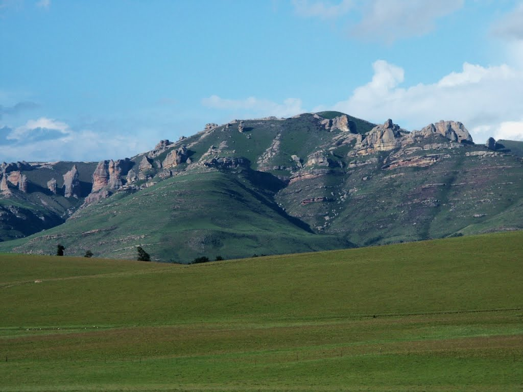 Drakensburg mountains in Eastern Cape, South Africa