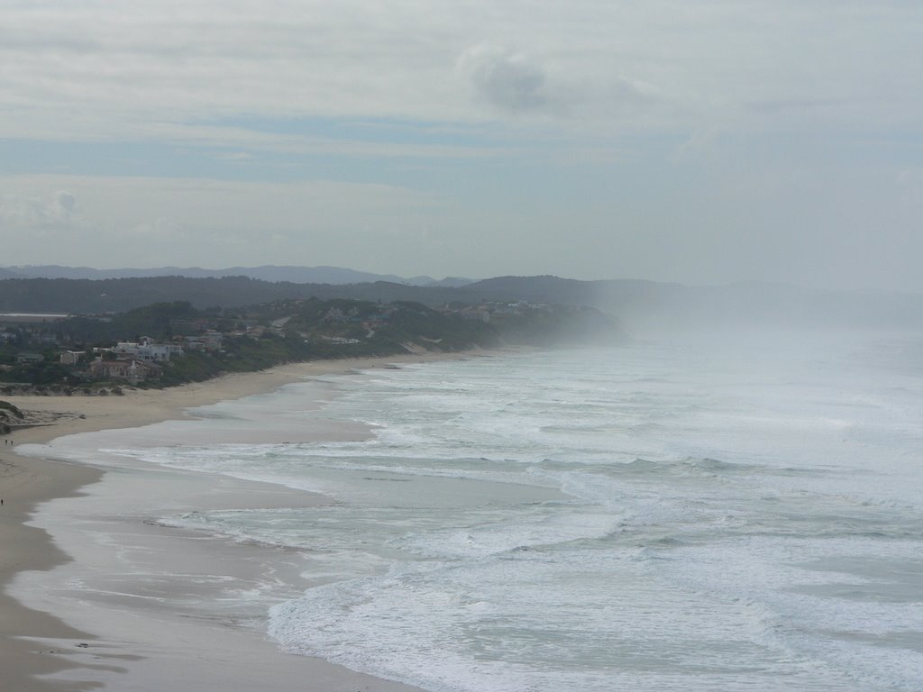 Mossel Bay shrouded i salt water mist