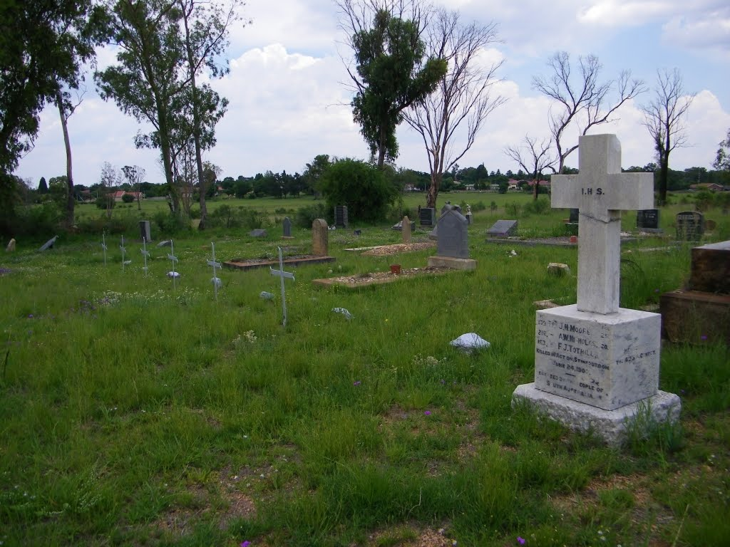 British Boer war graves in Vredefort