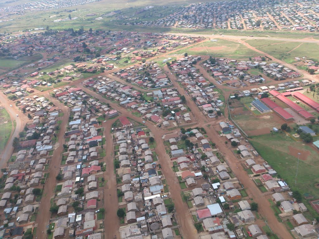 Sebokeng from the Air