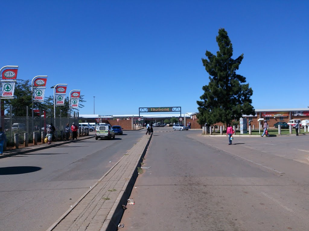 Entrance to Thabong Mall