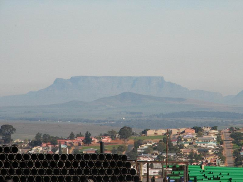 Table mountain from Malmesbury
